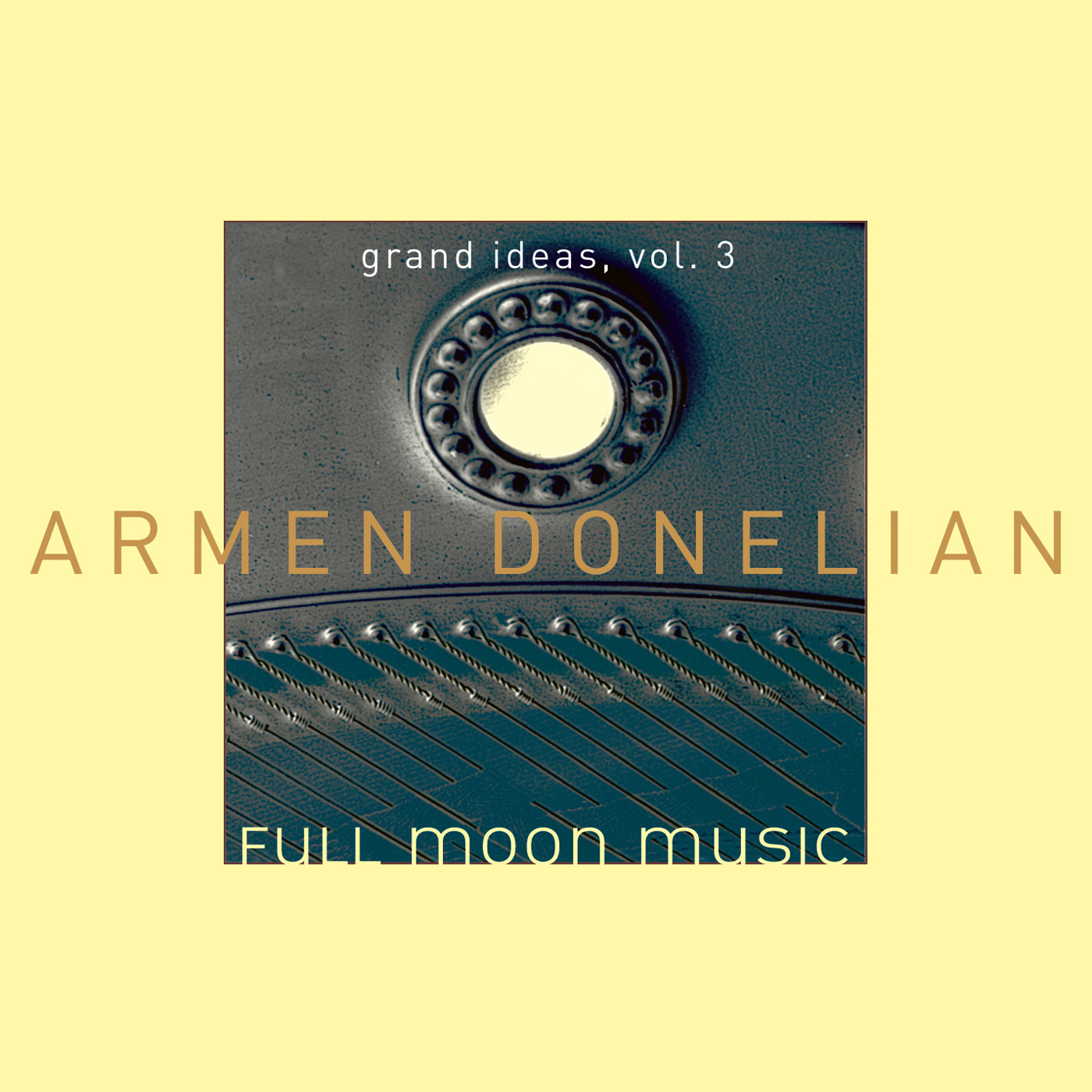 Full Moon Music by Armen Donelian cover