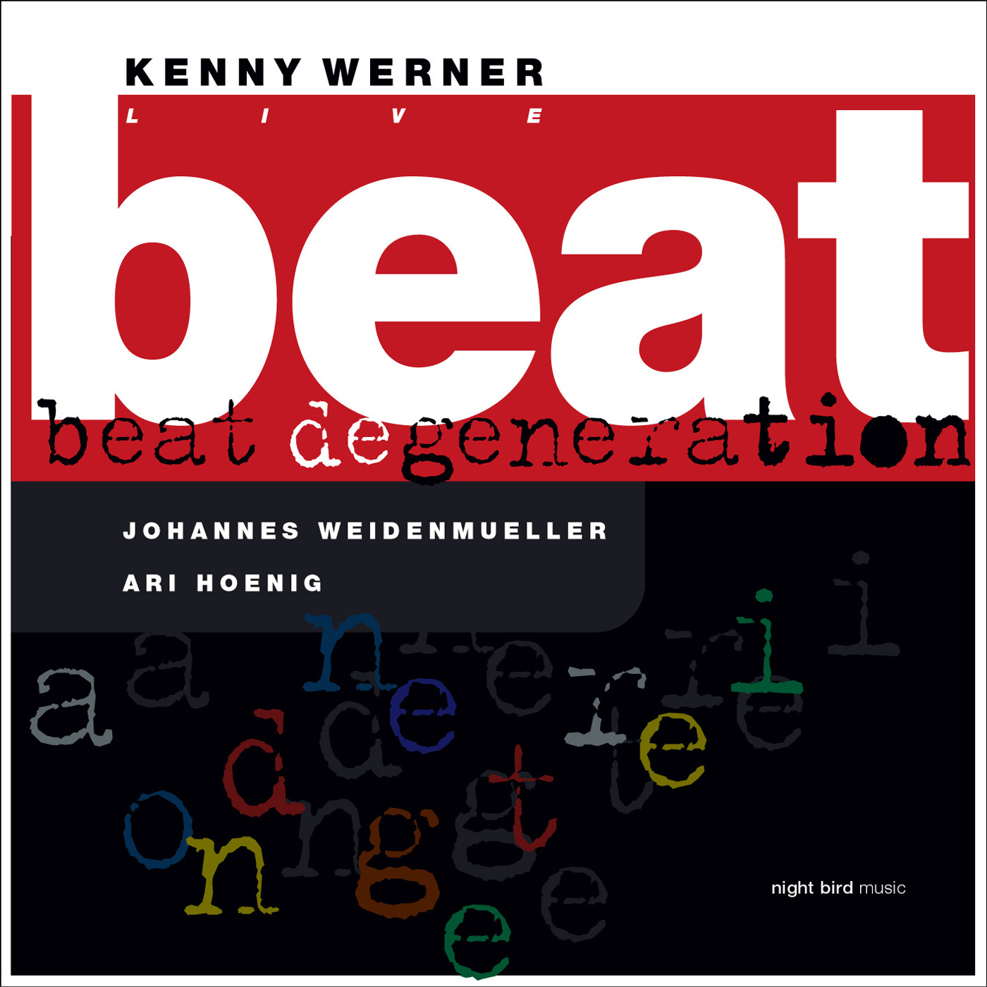 Beat Degeneration  by Kenny Werner cover