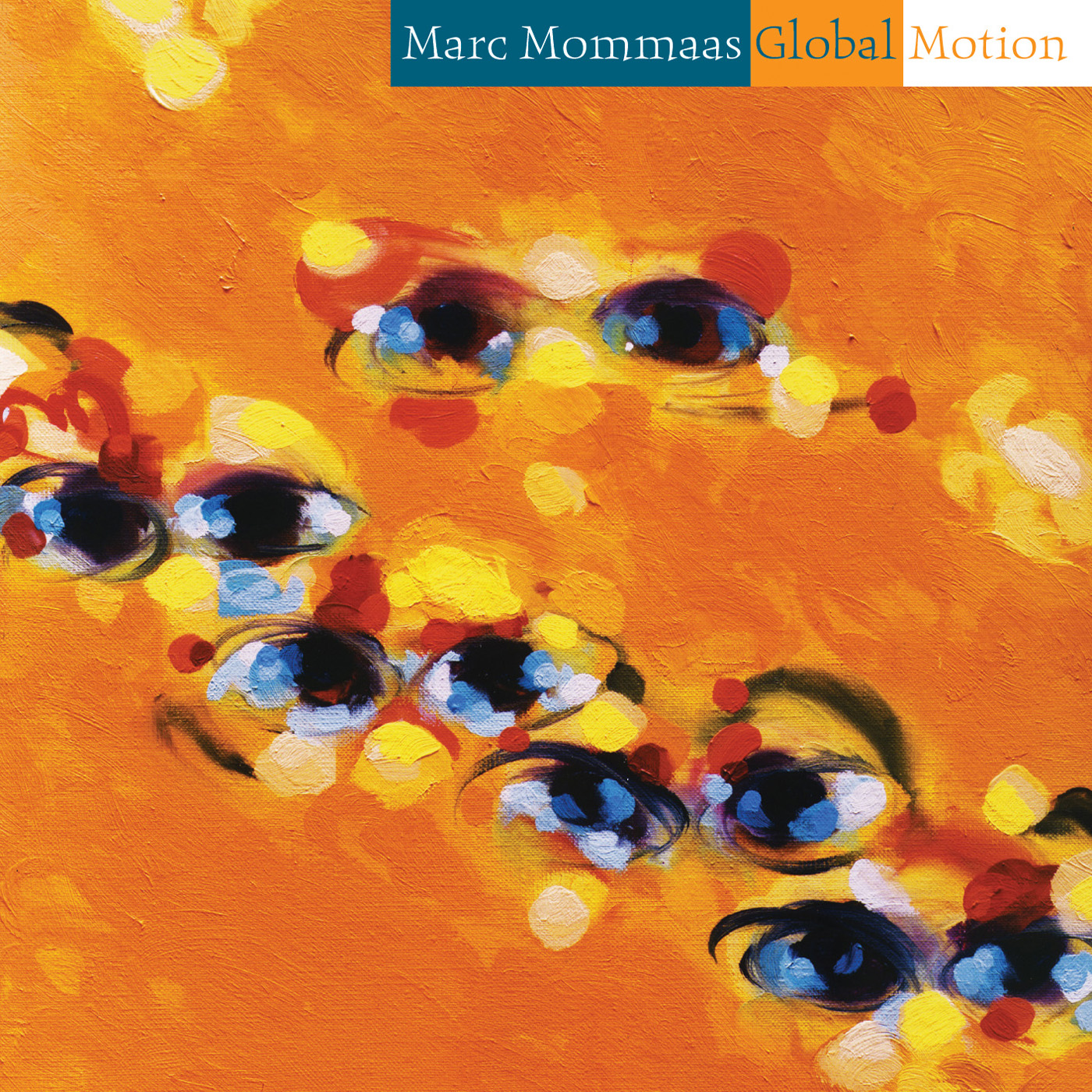 Global Motion by Marc Mommas cover