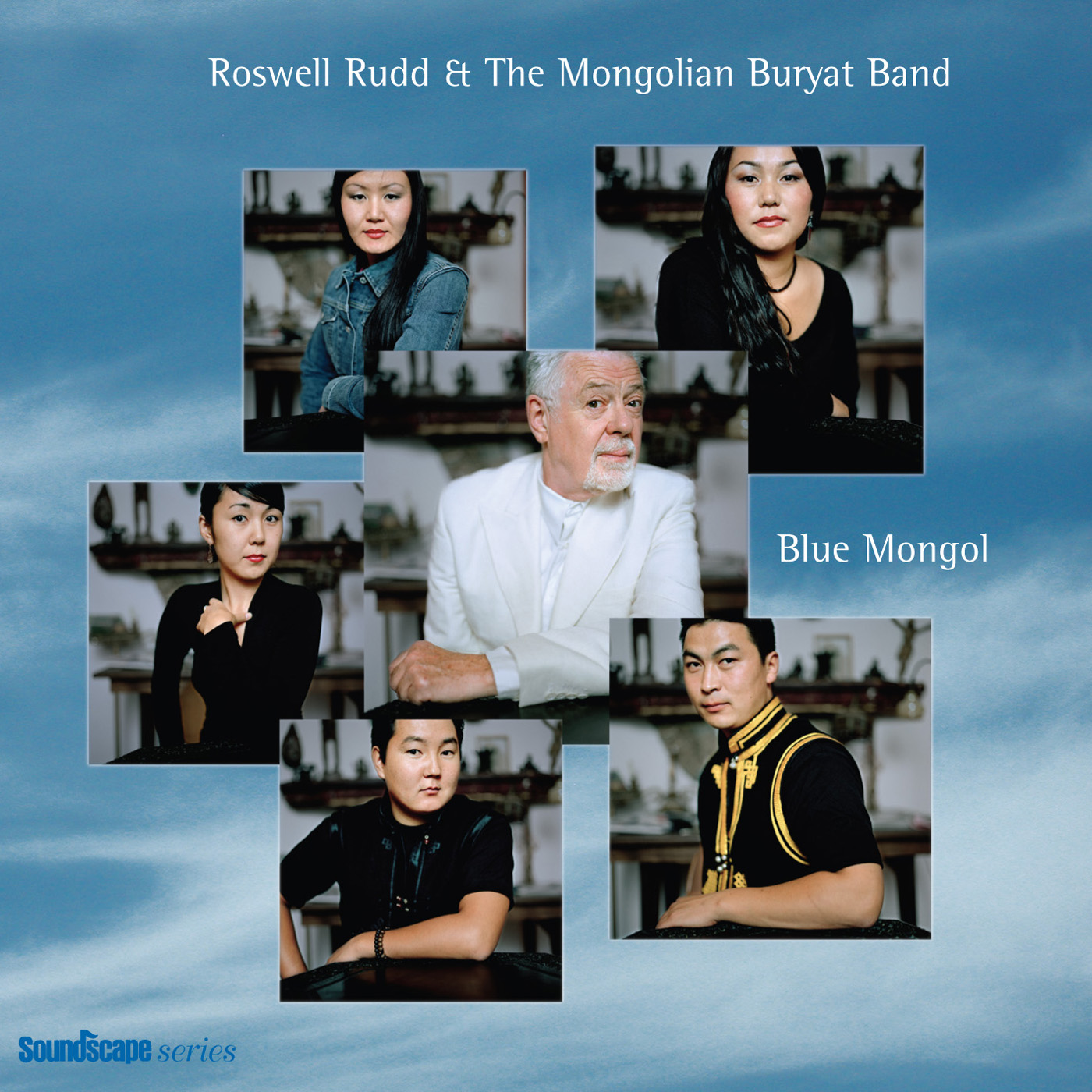 Blue Mongol by Roswell Rudd & the Mongolian Buryat Band cover