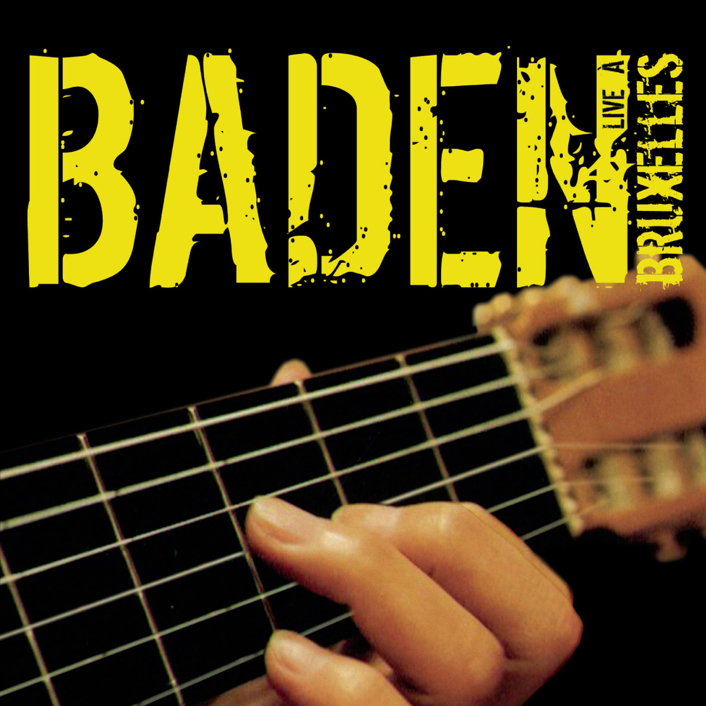 Baden Live A Bruxelles by Baden Powell cover