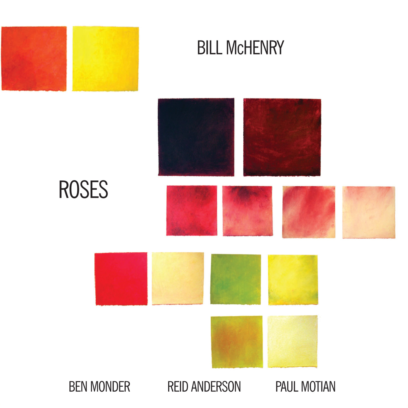 Roses by Bill McHenry cover