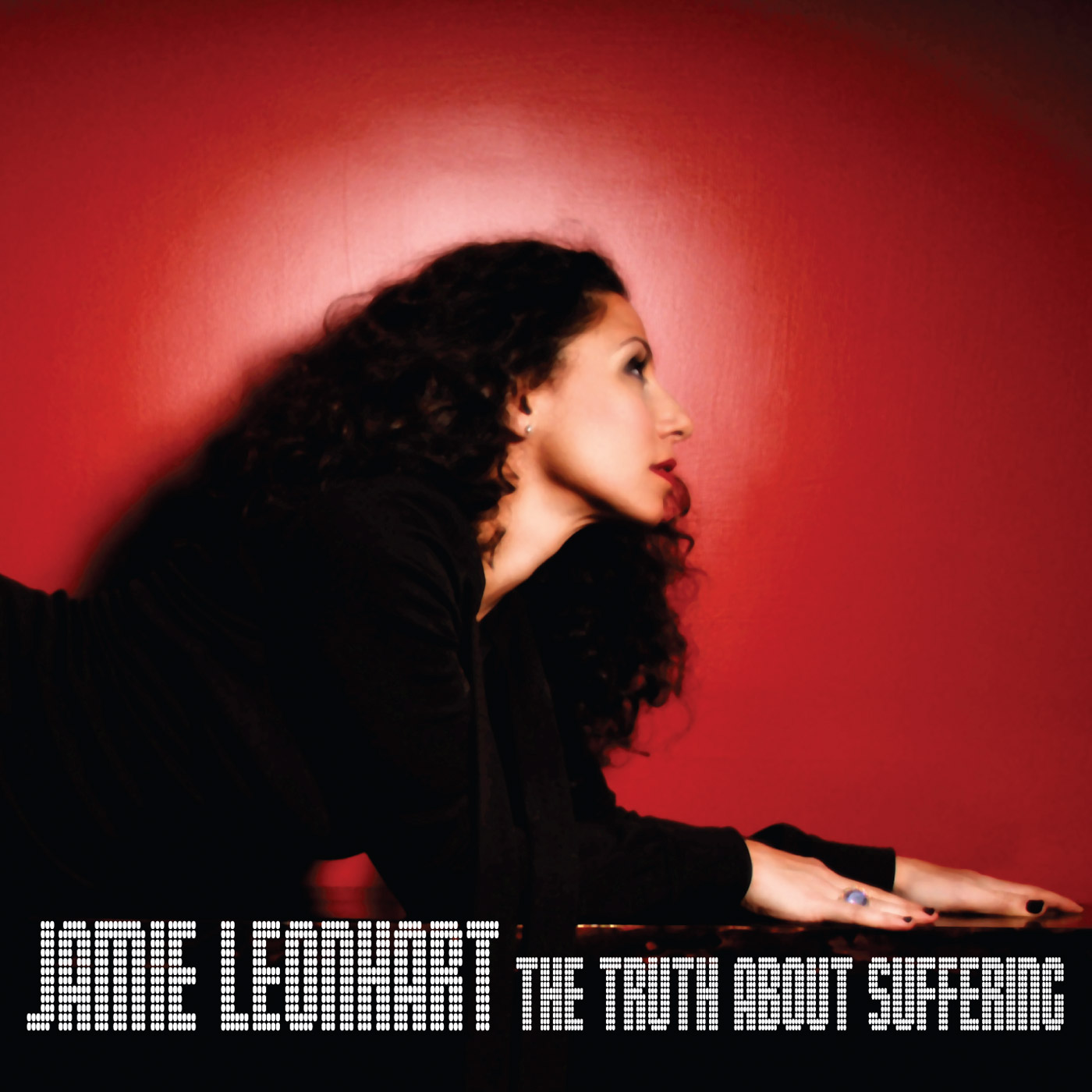 The Truth About Suffering by Jamie Leonhart cover