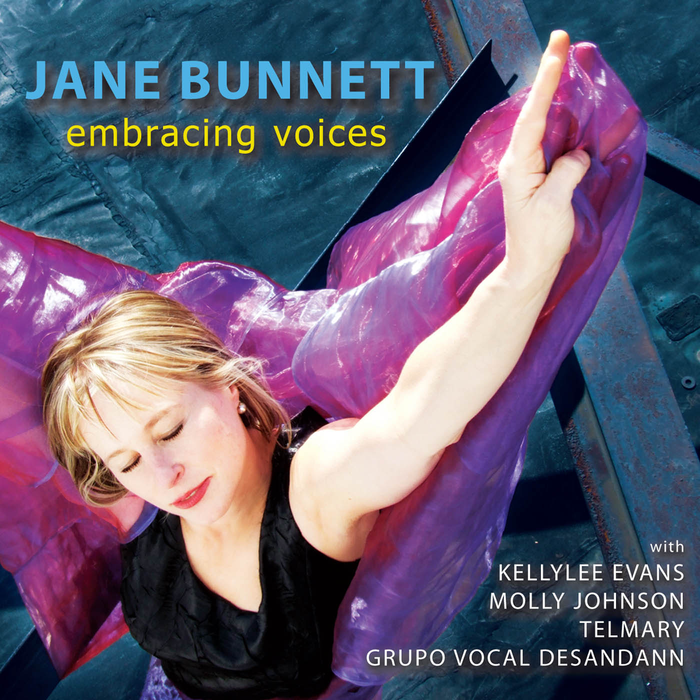 Embracing Voices by Jane Bunnett cover