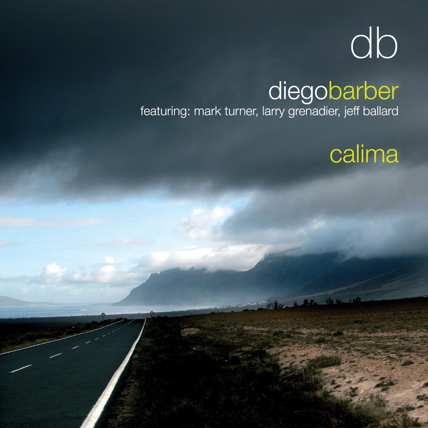 Calima by Diego Barber cover