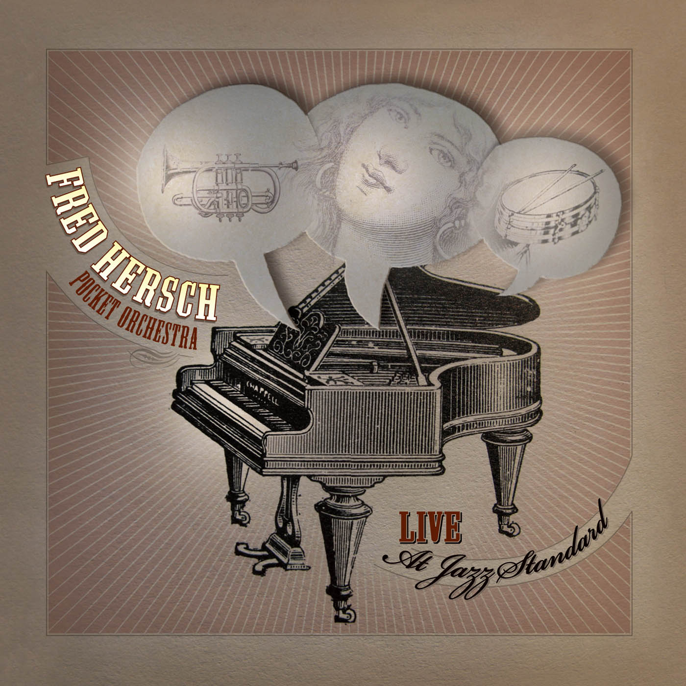 Live At Jazz Standard by Fred Hersch cover