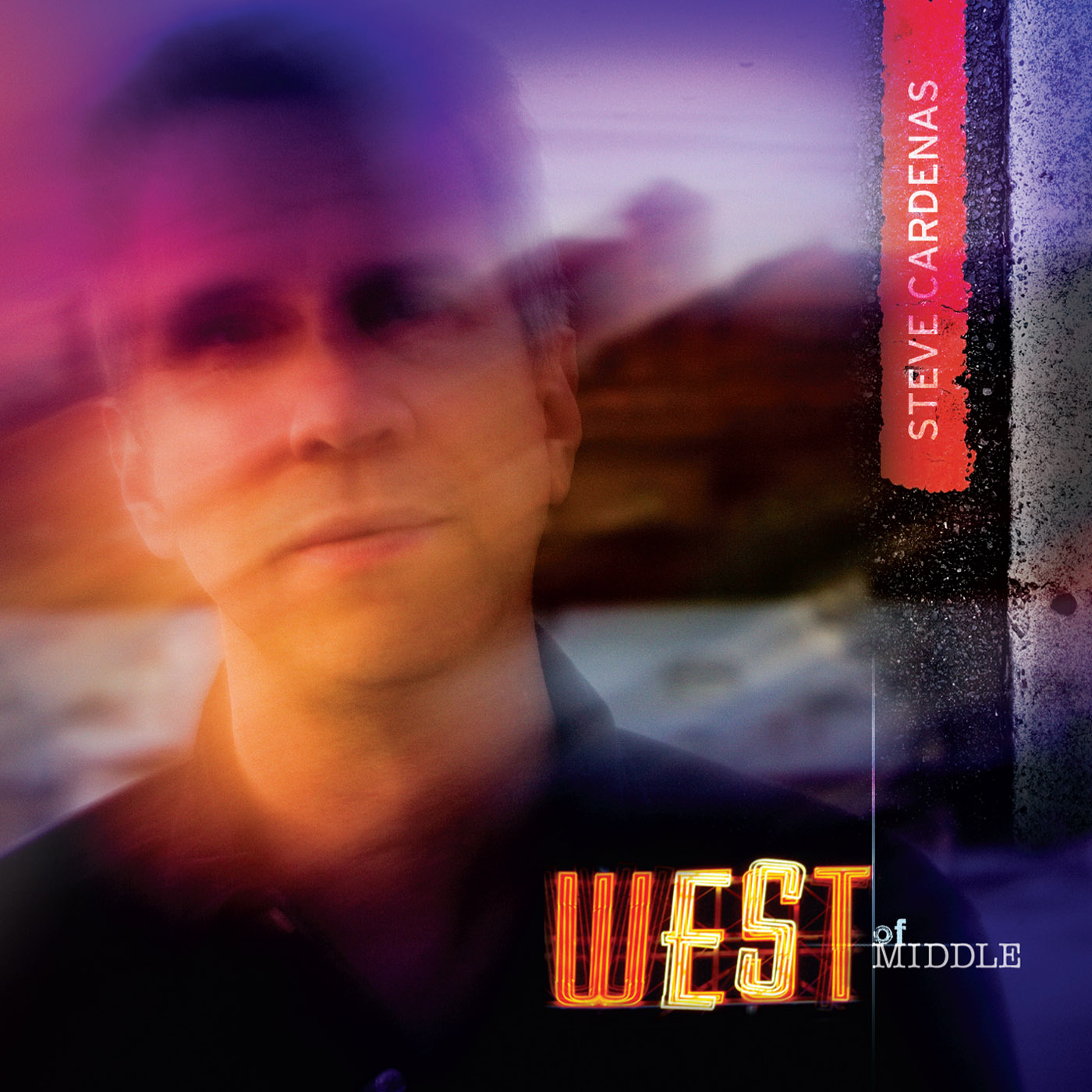 West Of Middle by Steve Cardenas cover