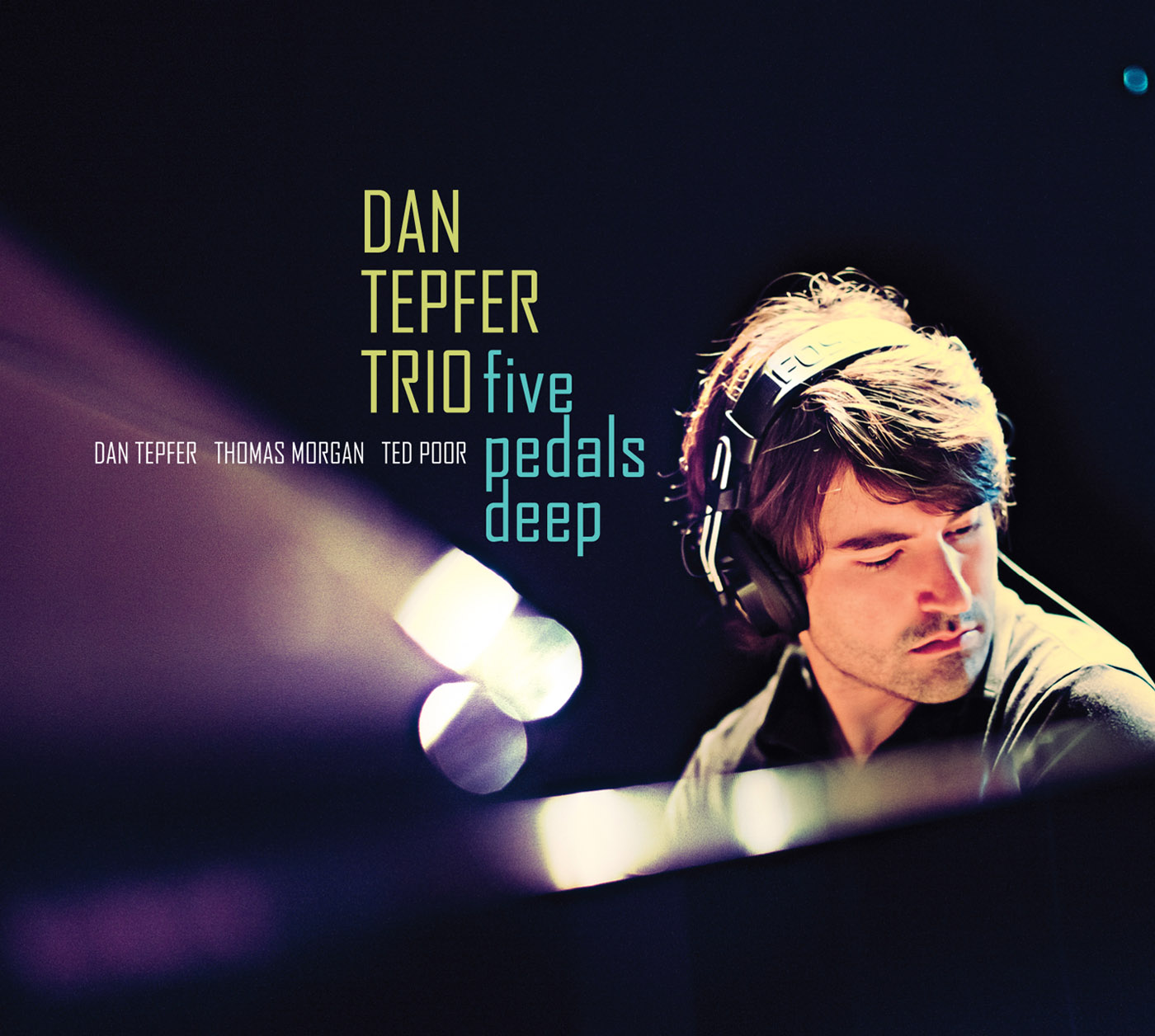 Five Pedals Deep by Dan Tepfer cover