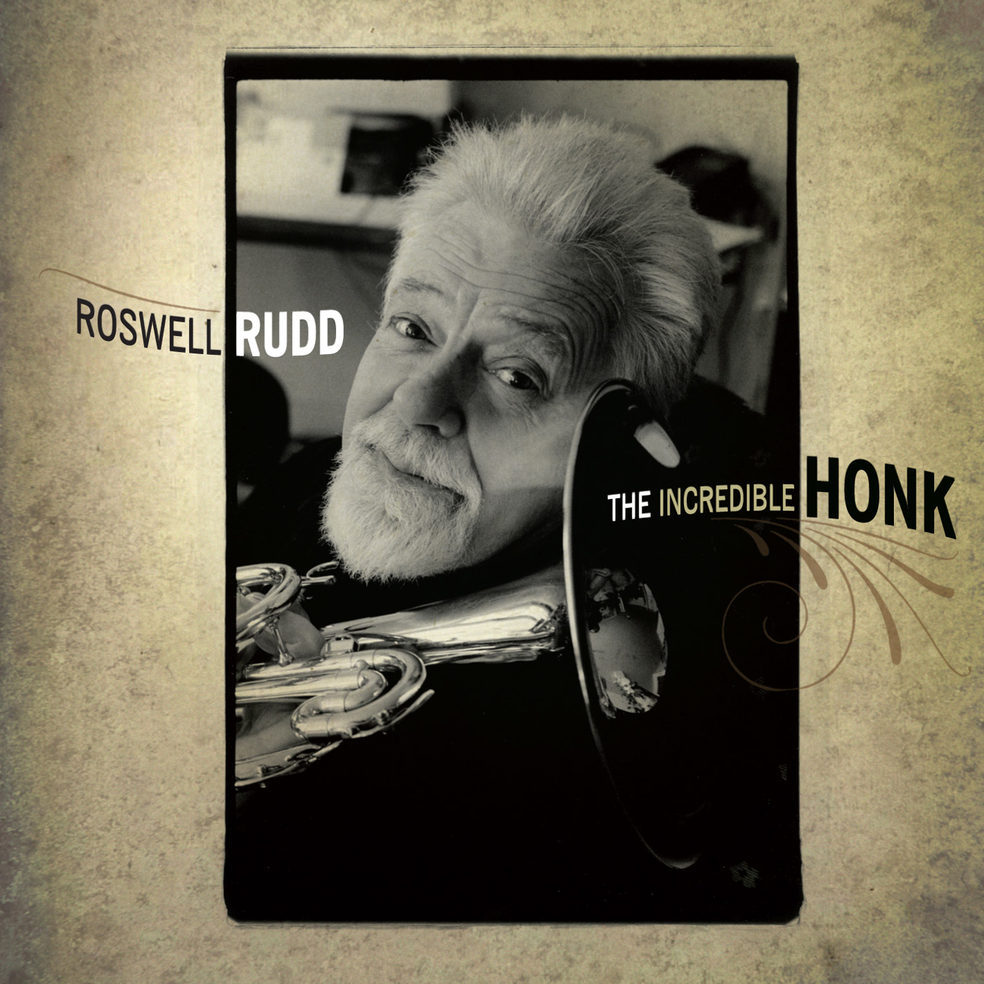 The Incredible Honk by Roswell Rudd cover