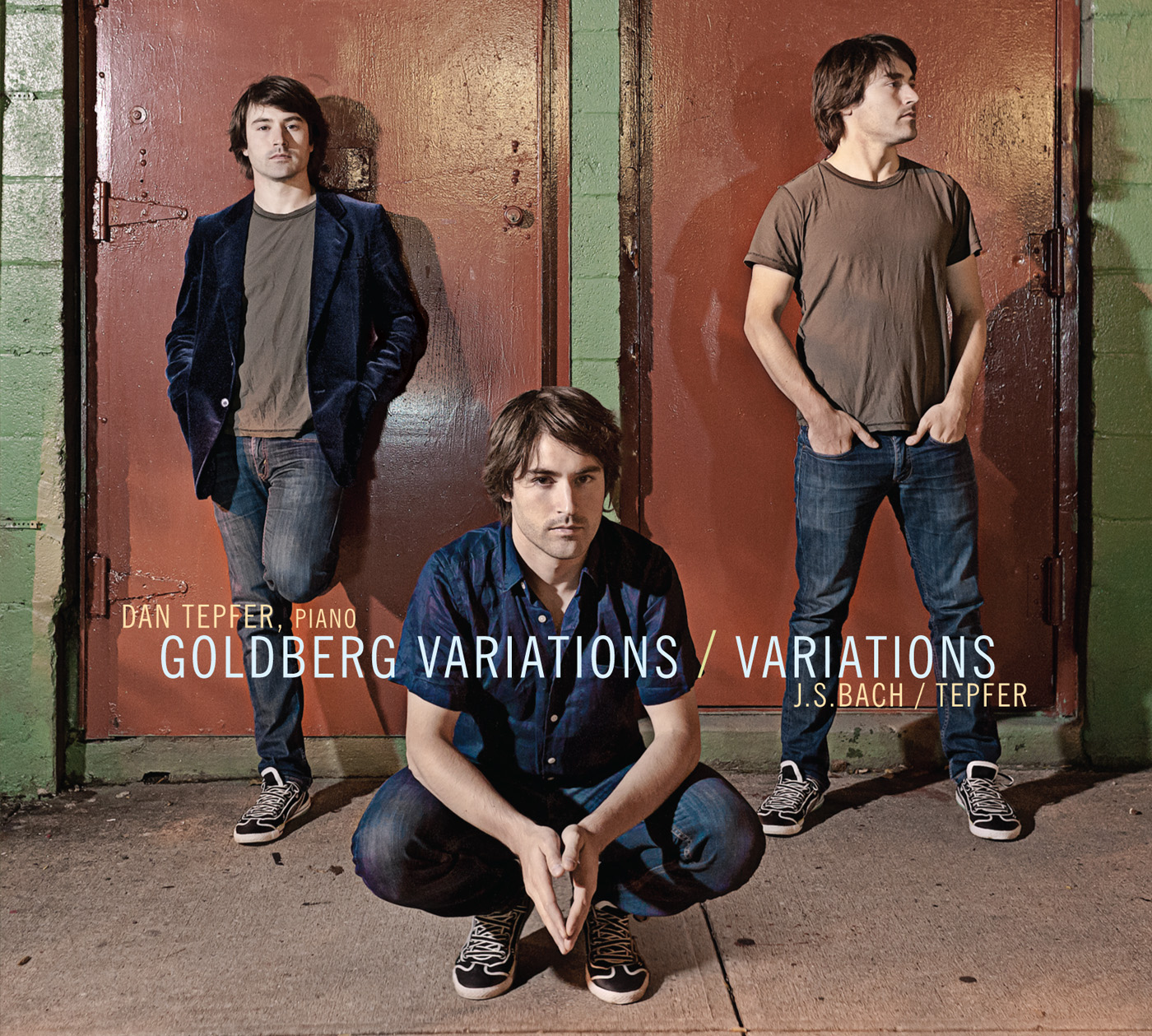 Goldberg Variations / Variations by Dan Tepfer cover