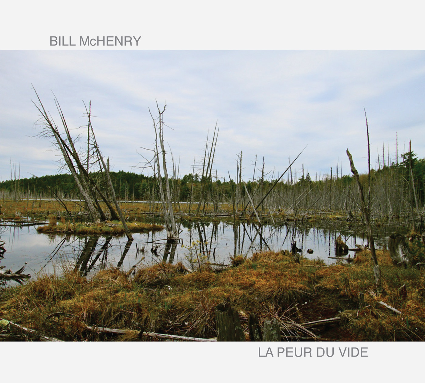 La Peur du Vide by Bill McHenry cover