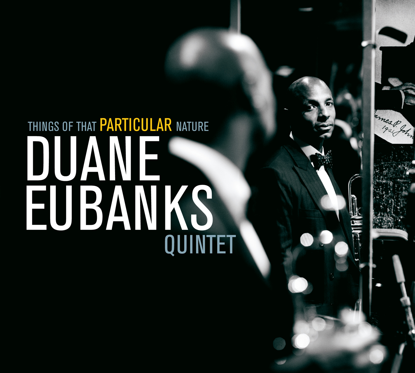 Things Of That Particular Nature  by Duane  Eubanks cover