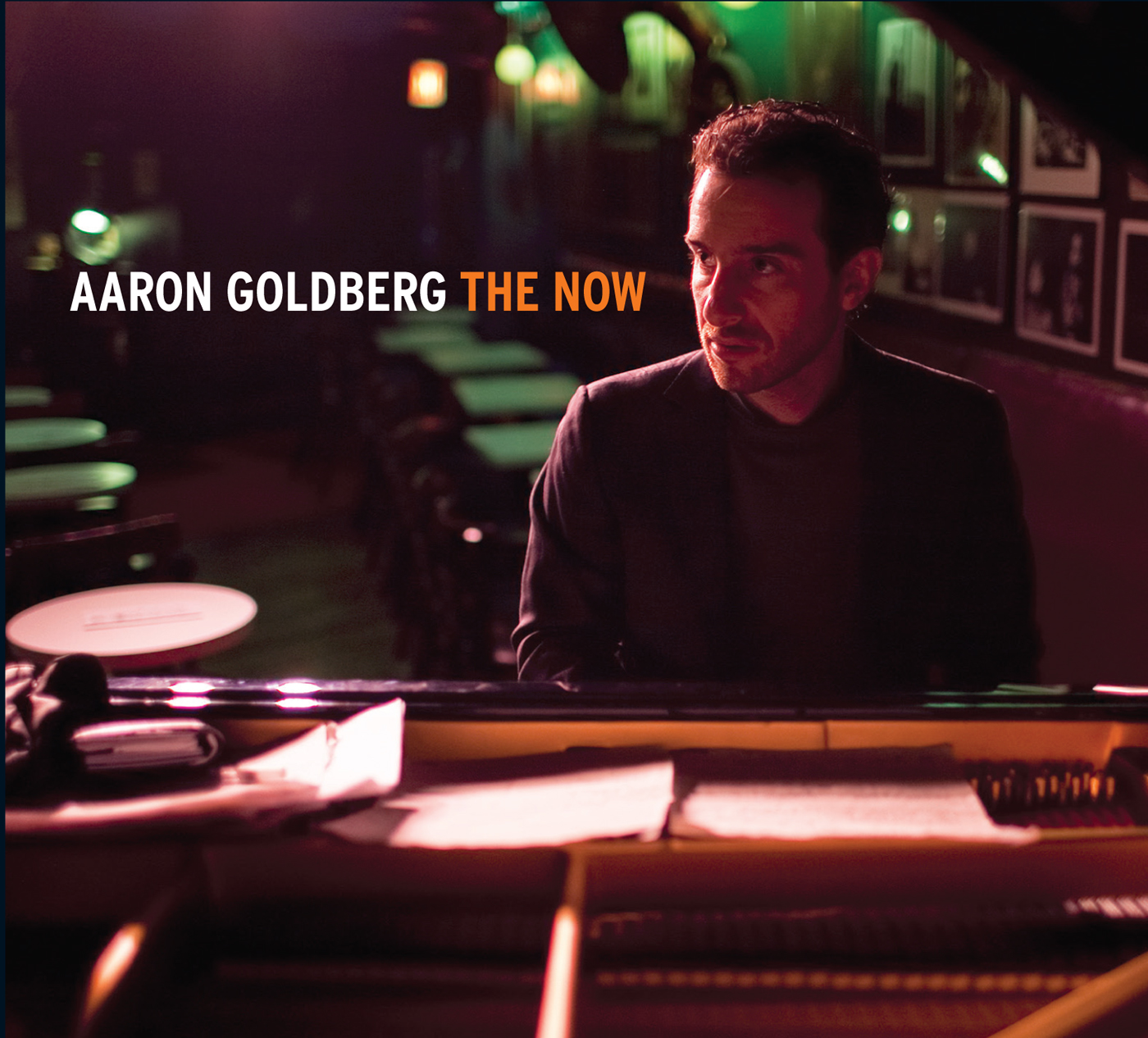 The Now  by Aaron  Goldberg cover