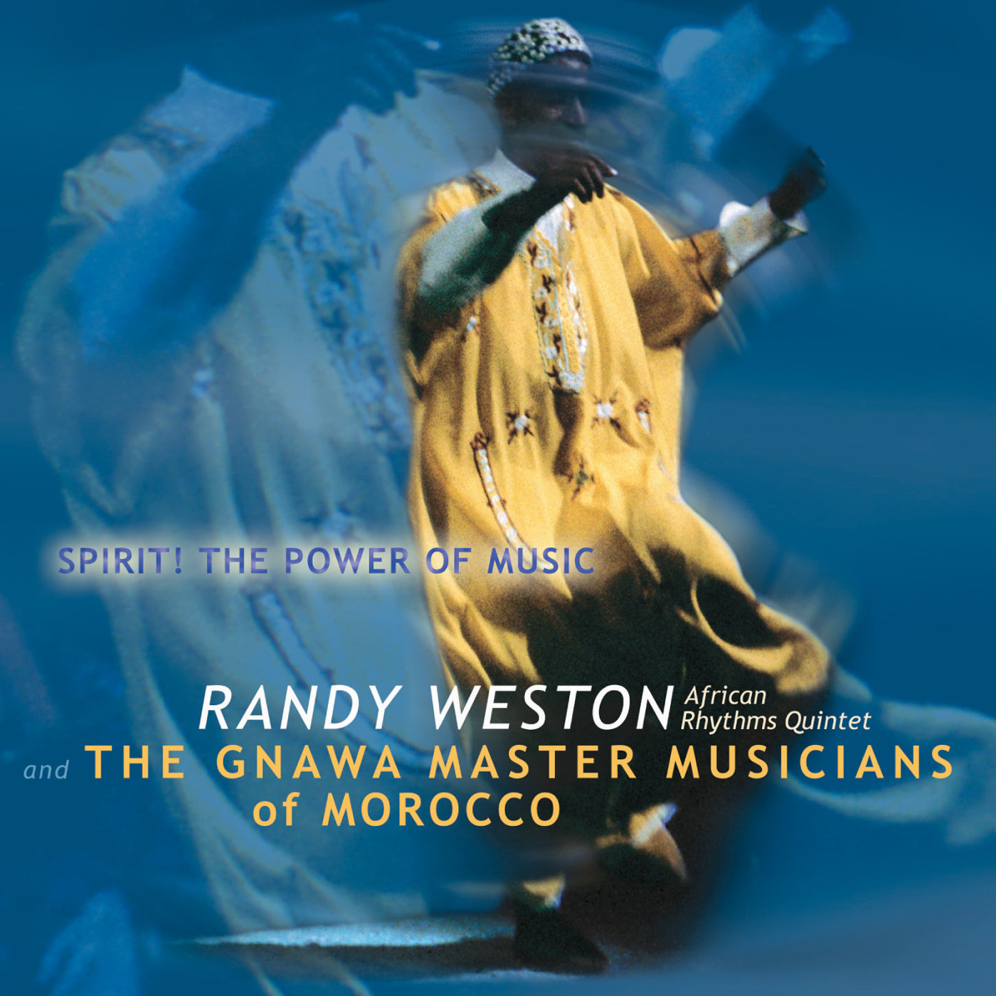 Spirit The Power Of Music by Randy Weston cover
