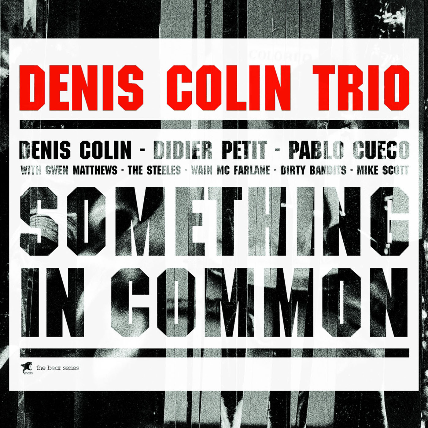 Something In Common  by Denis Colin Trio cover