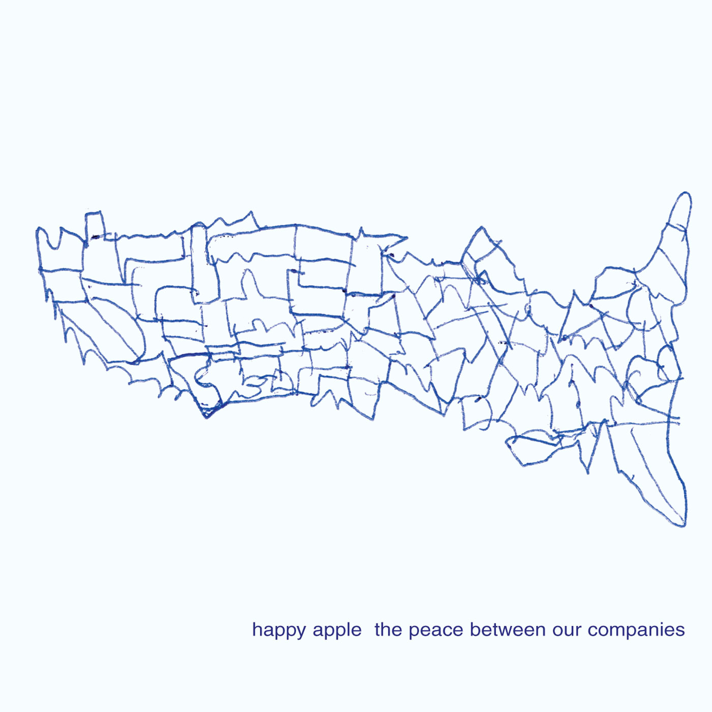 The Peace Between Our Companies by Happy Apple cover
