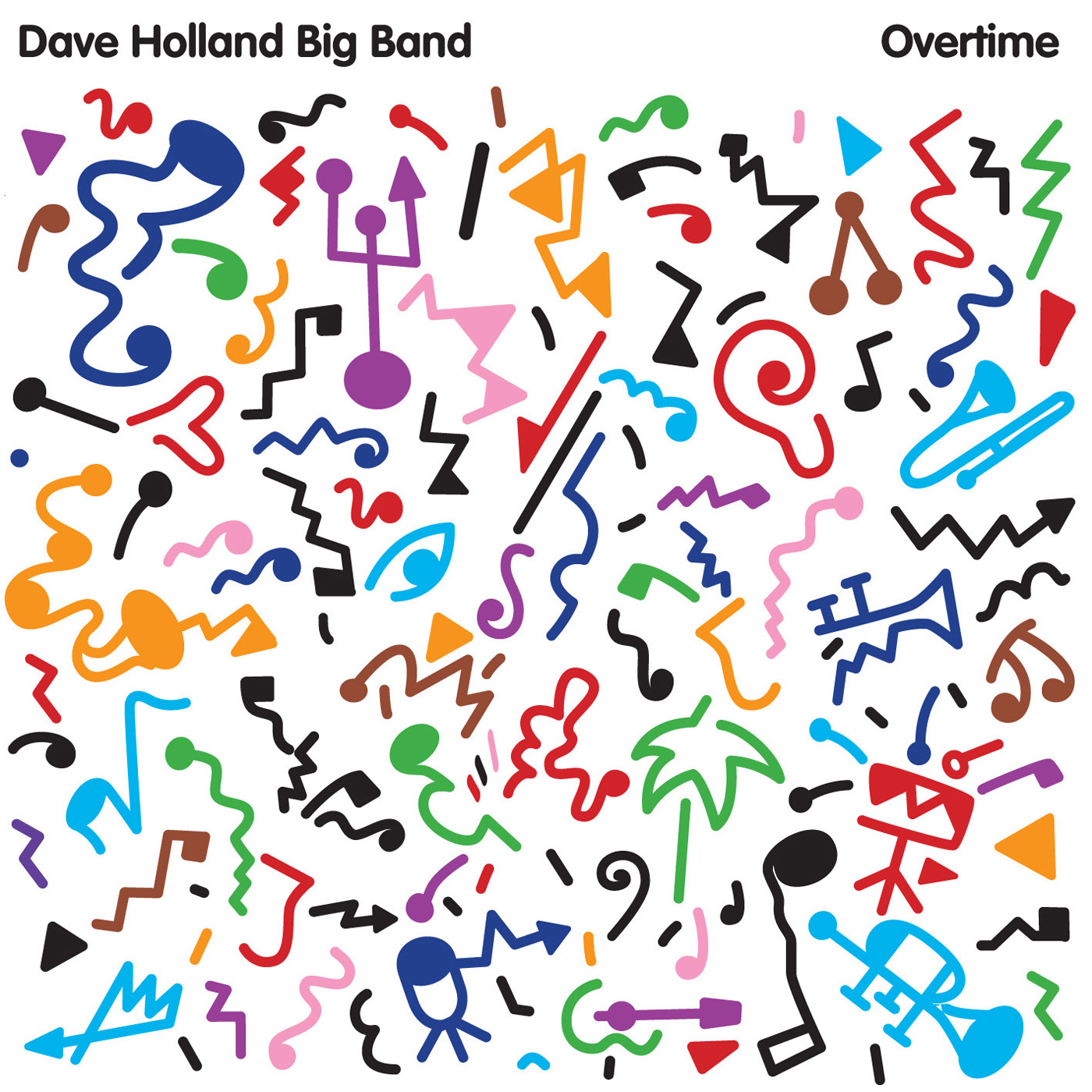 Overtime by dave Holland cover