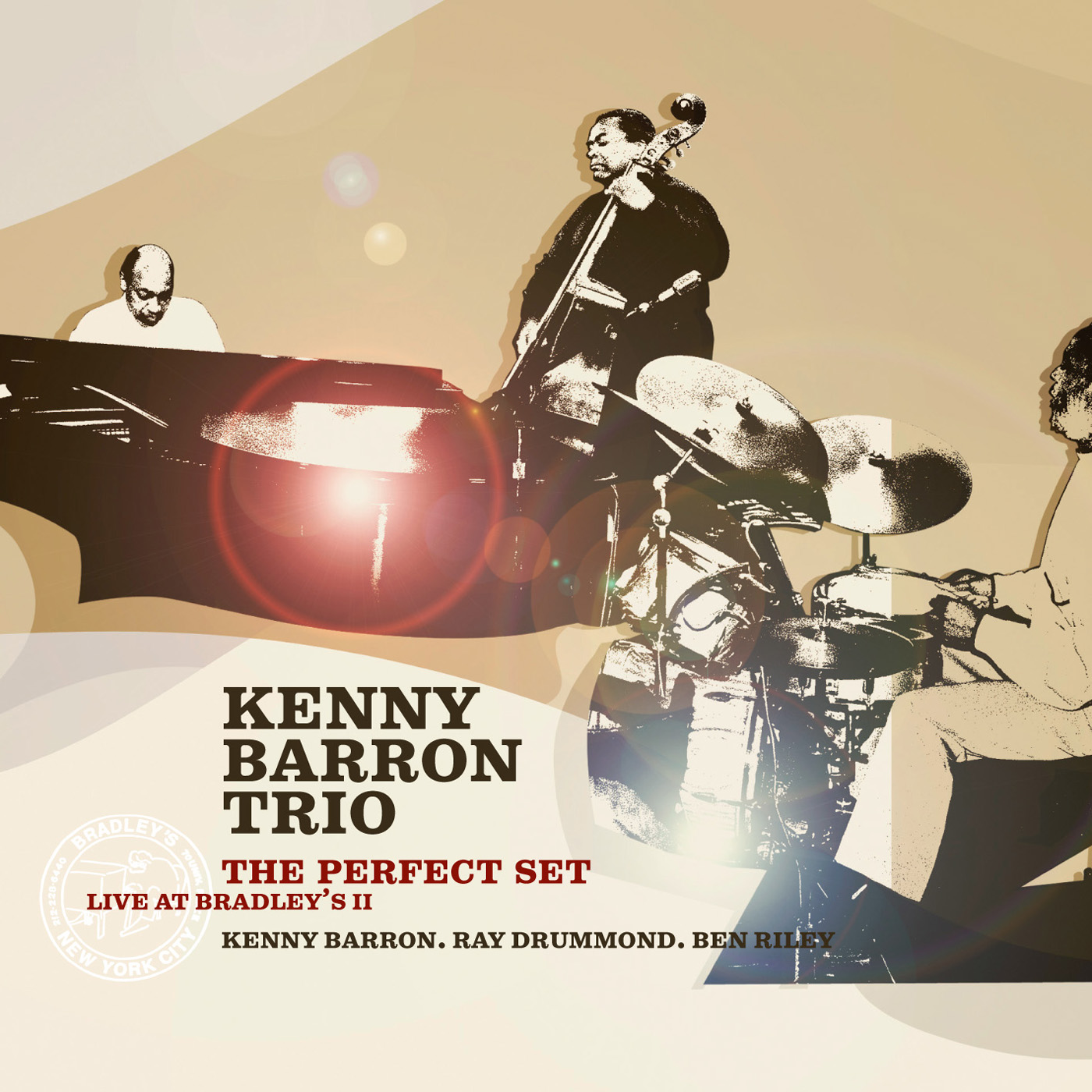 The Perfect Set - Live at Bradley\'s II by Kenny Barron Trio