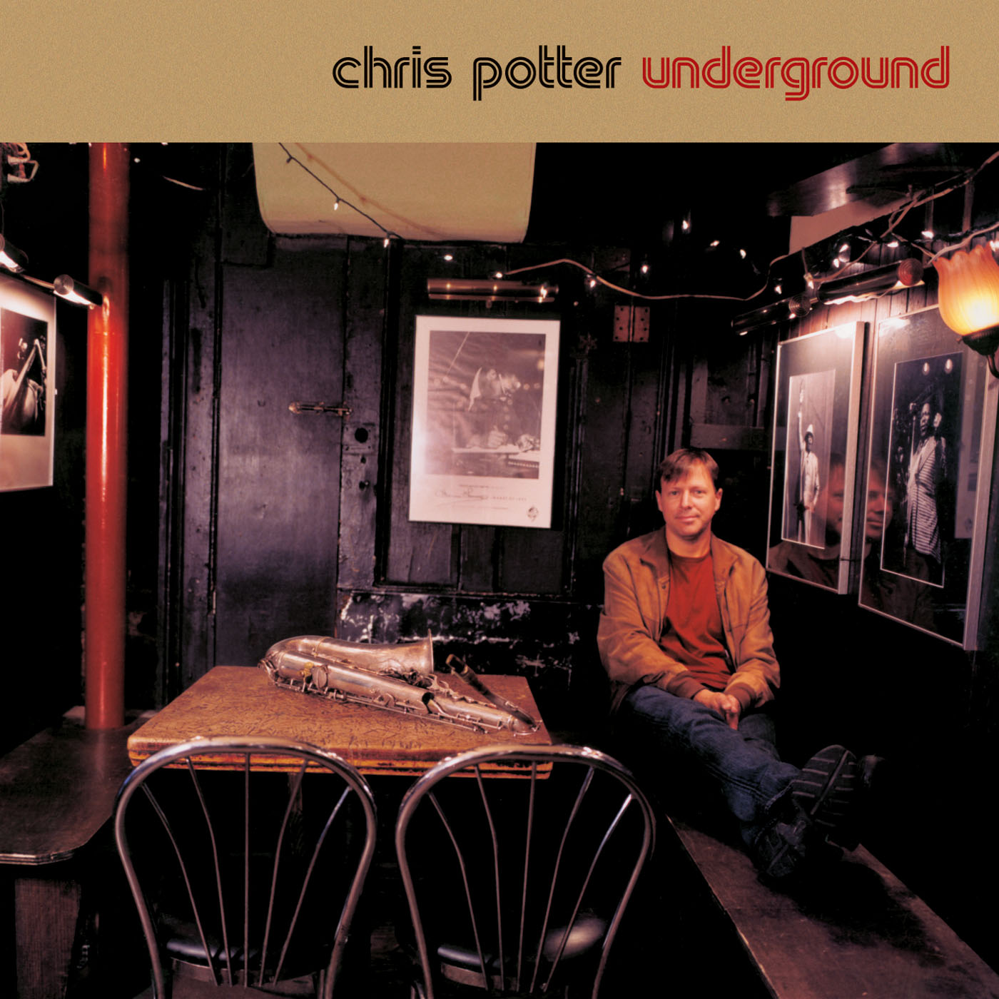 Underground by Chris Potter cover