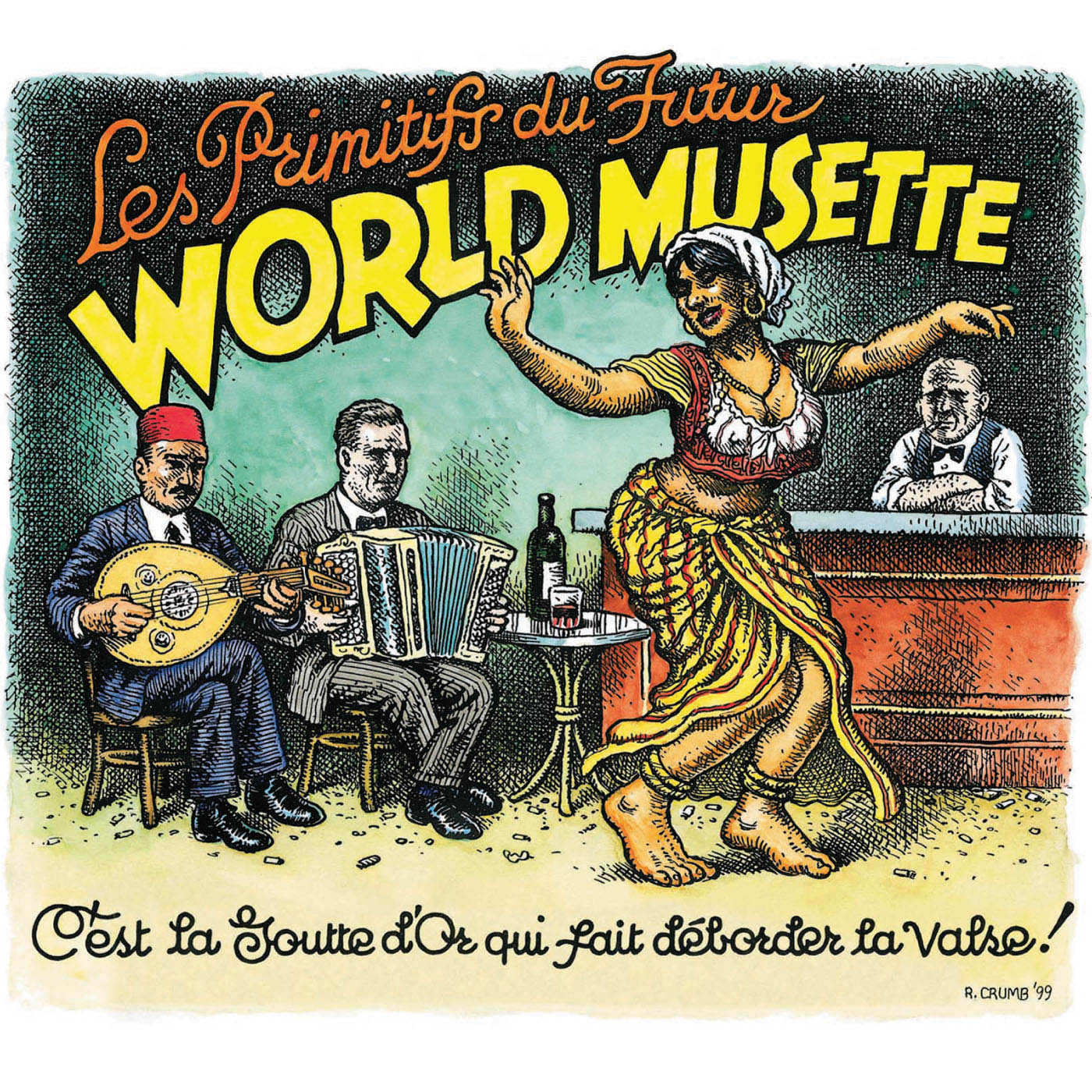 World Musette by Les Primitifs du Futur  cover