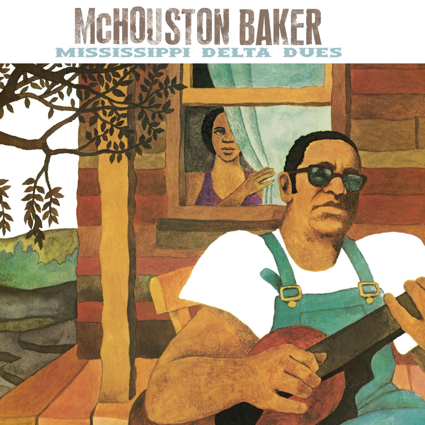 Mississippi Delta Blues by McHouston Baker