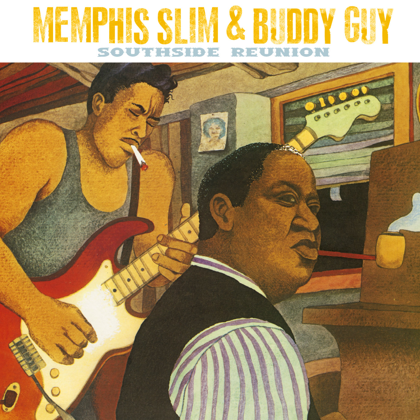 Southside Reunion by Memphis Slim cover