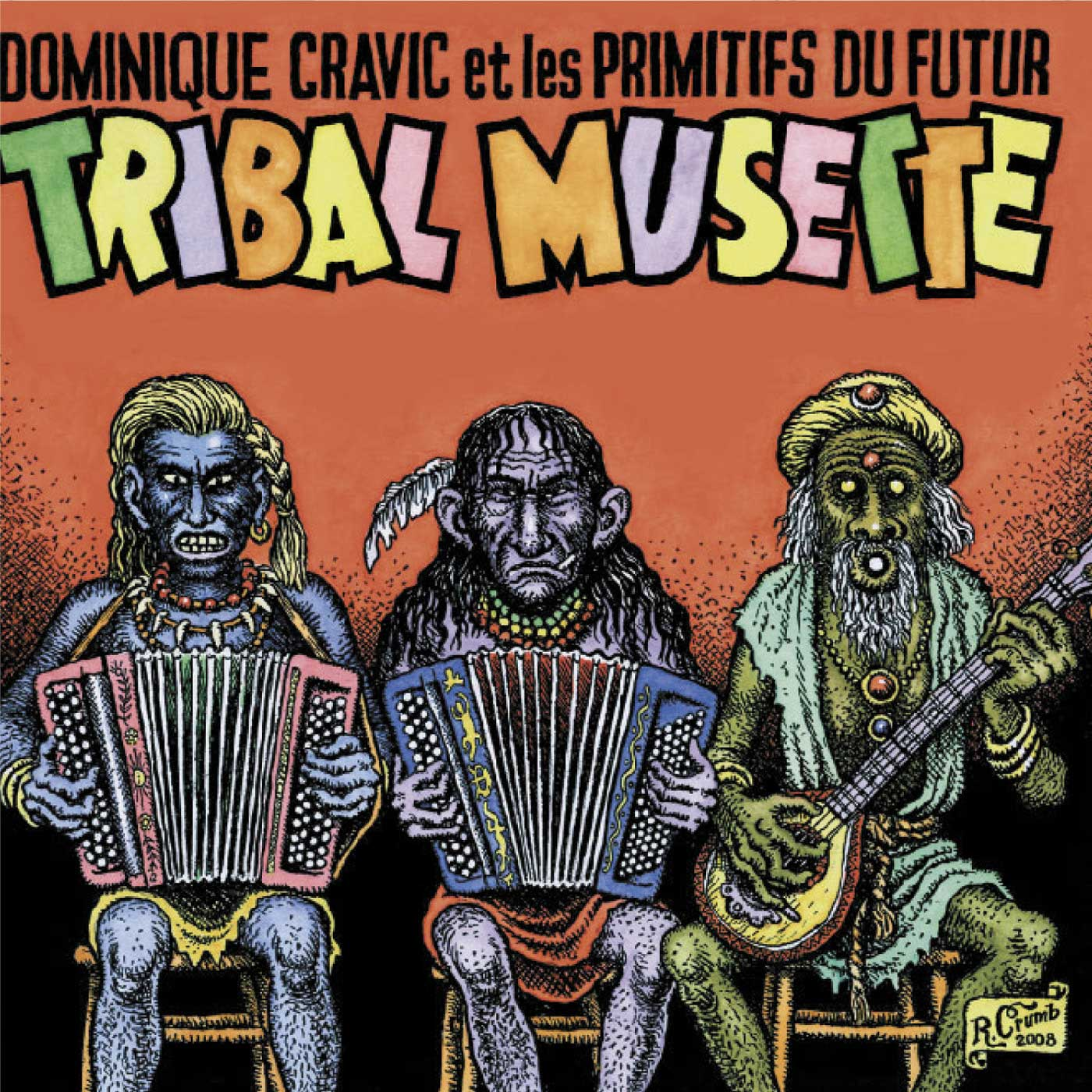 Tribal Musette by Les Primitifs Du Futur cover