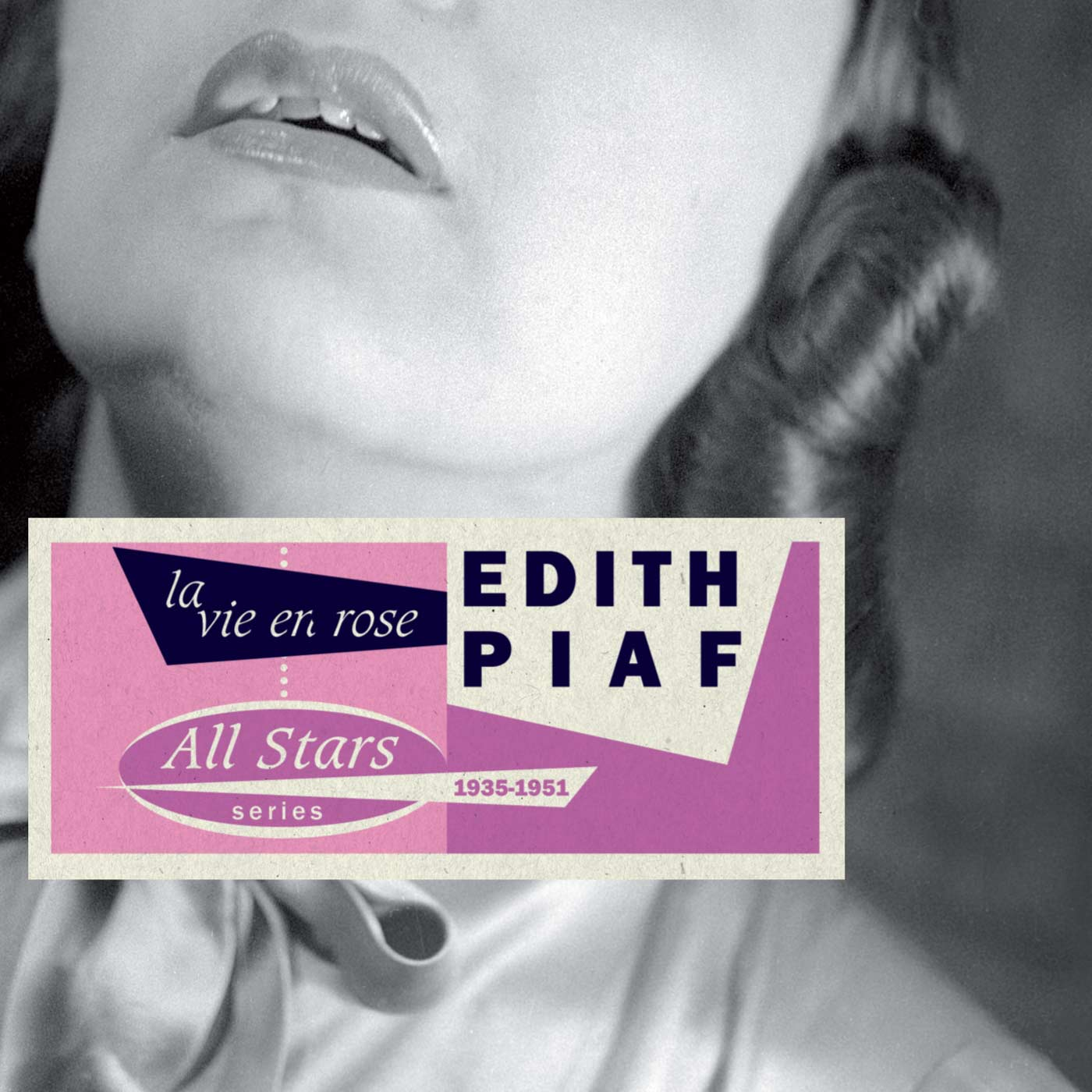 La Vie En Rose 1935-1951 by Edith Piaf cover
