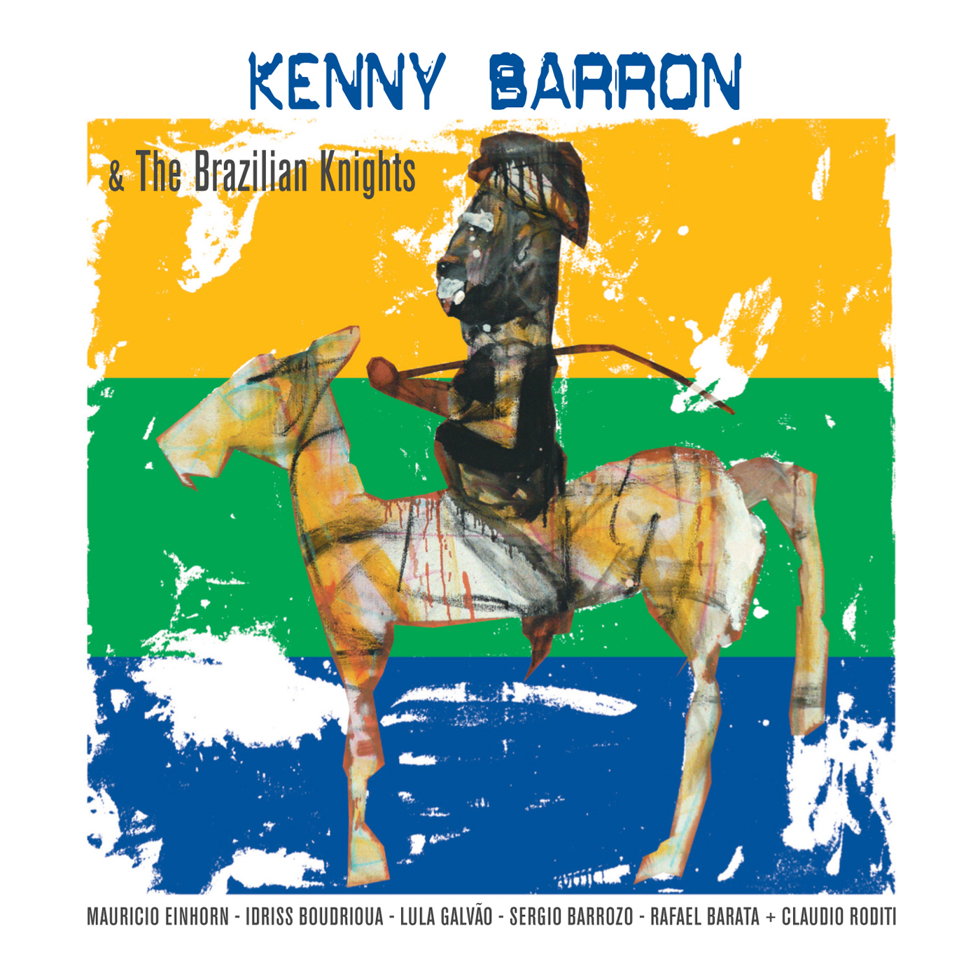 Kenny Barron & the Brazilian Knights by Kenny Barron cover