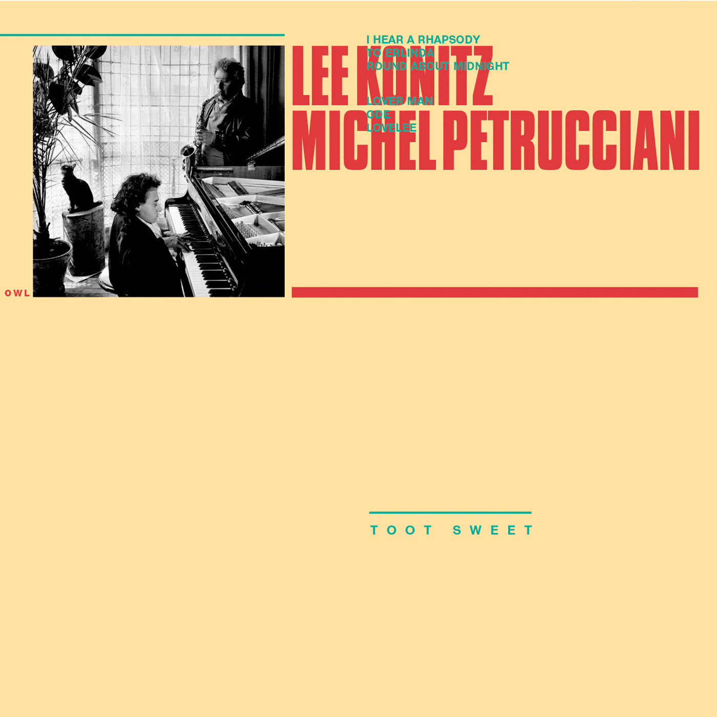Toot Sweet by Lee Konitz & Michel Petrucciani cover