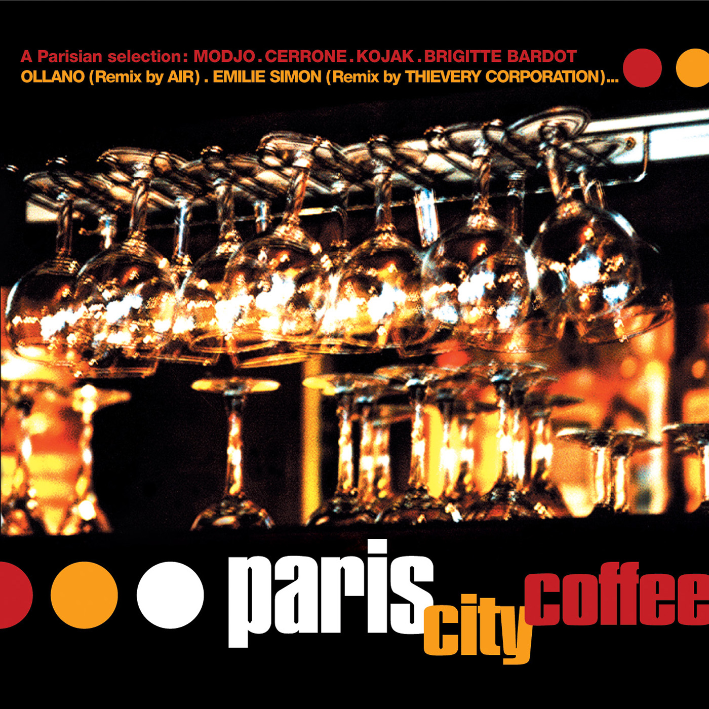 Paris City Coffee by Various Artists cover