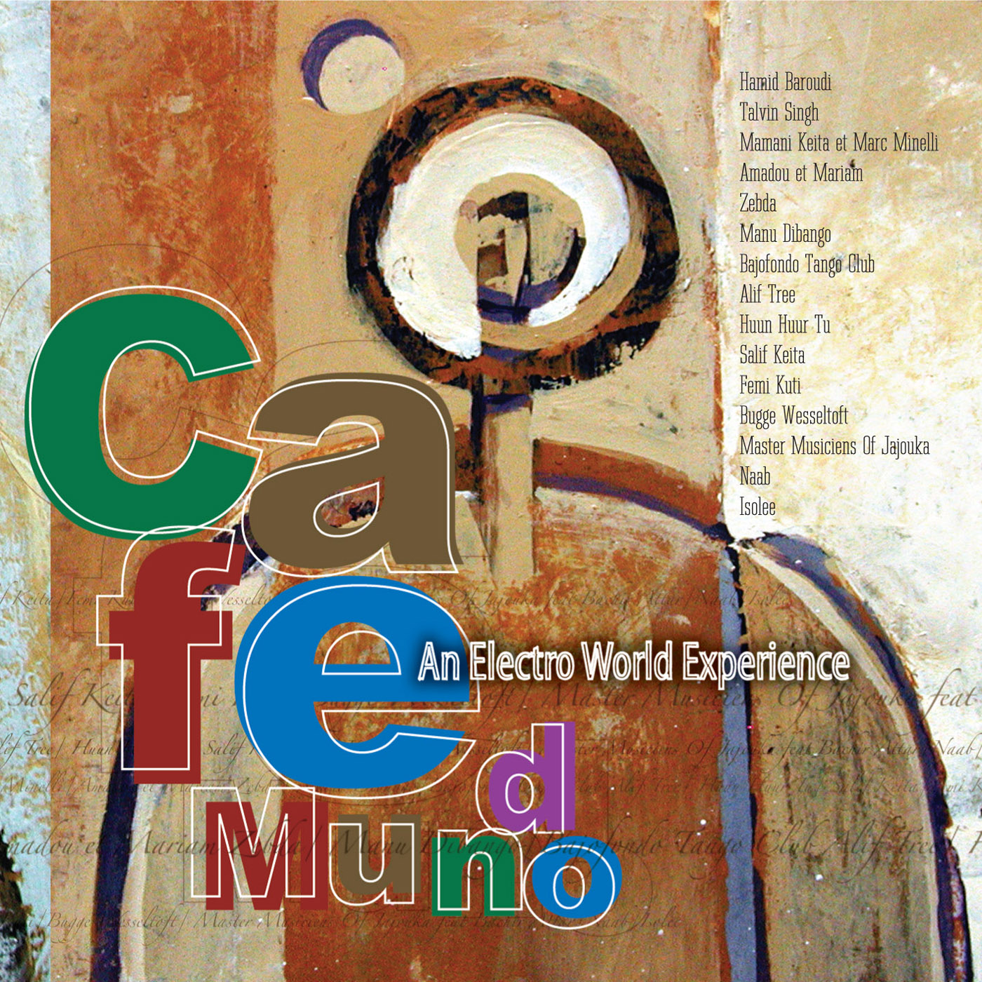 Caf� Mundo  by Various Artists cover
