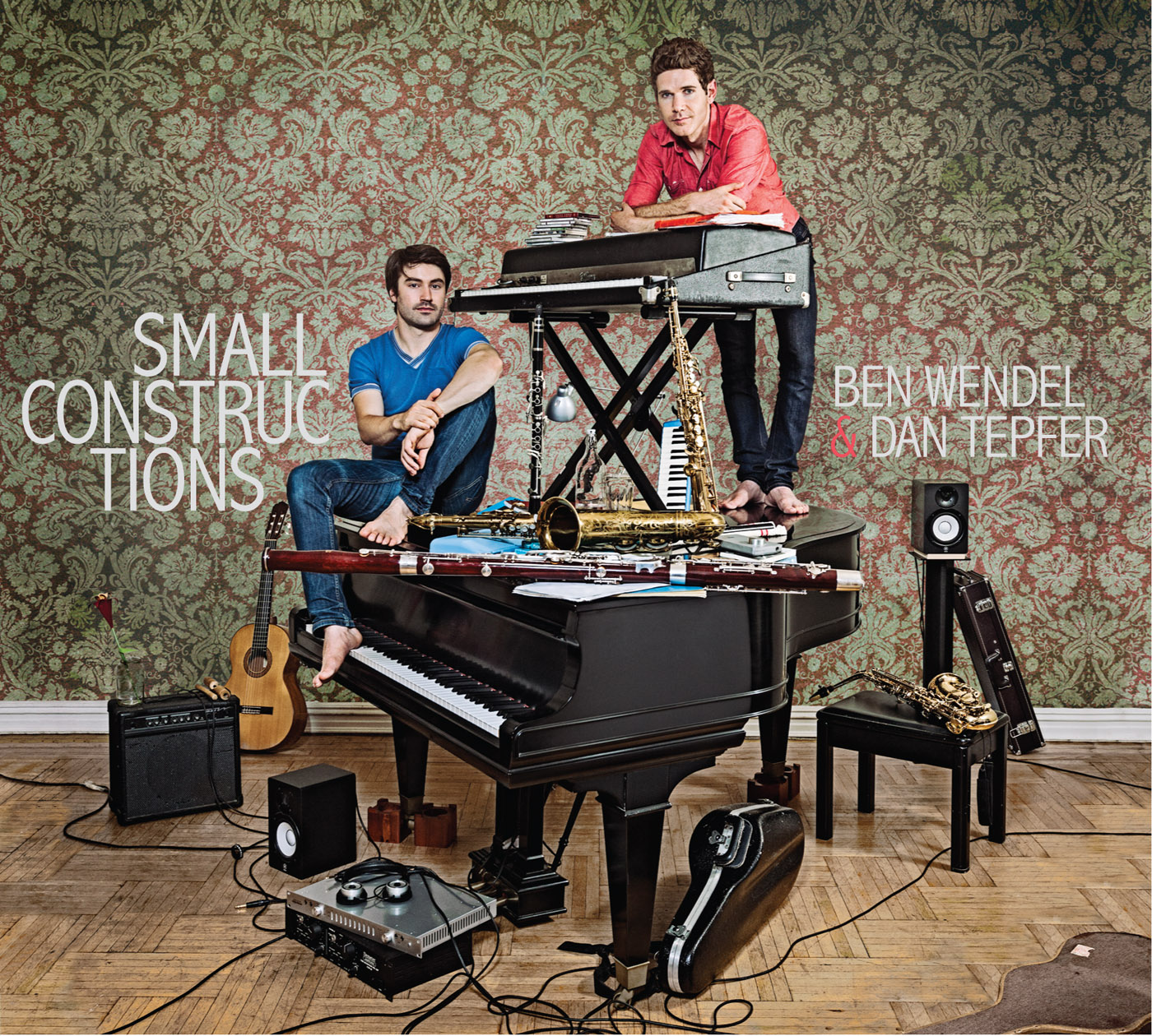 Small Constructions by Dan Tepfer & Ben Wendel cover