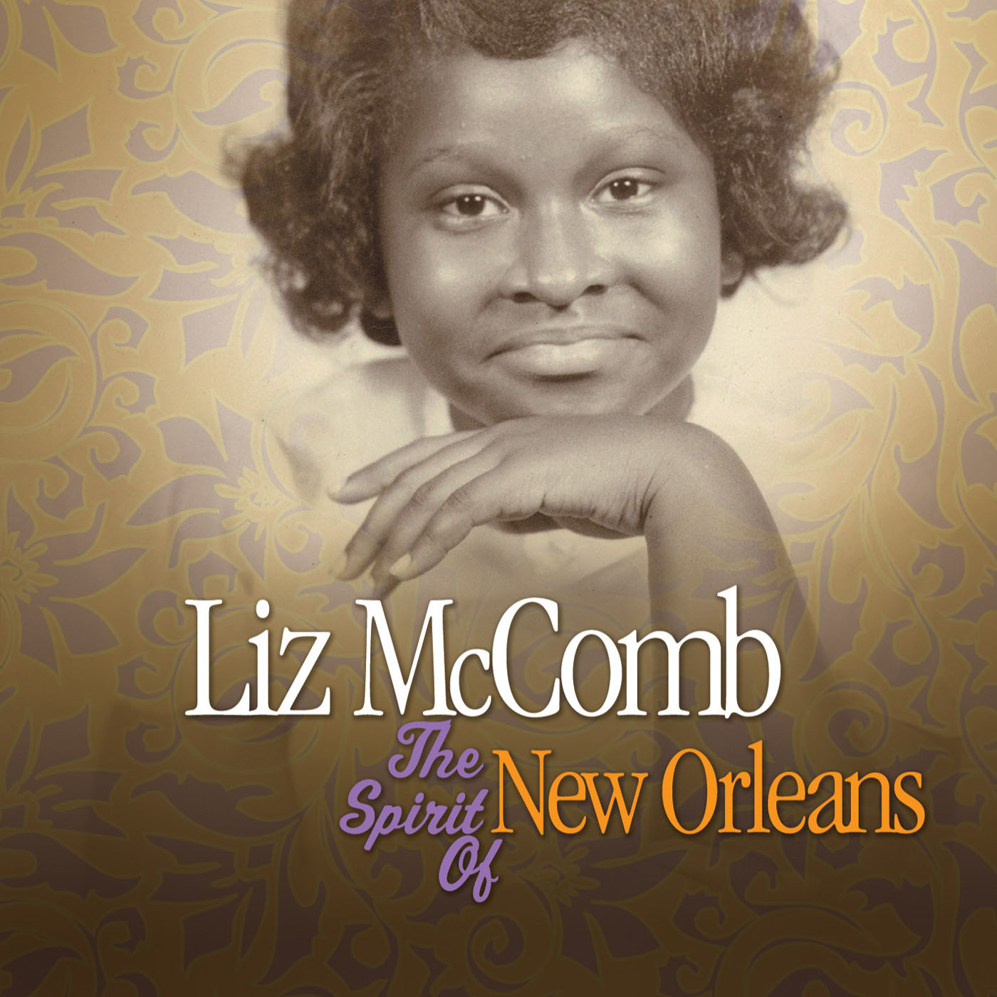 The Spirit Of New Orleans by Liz McComb cover