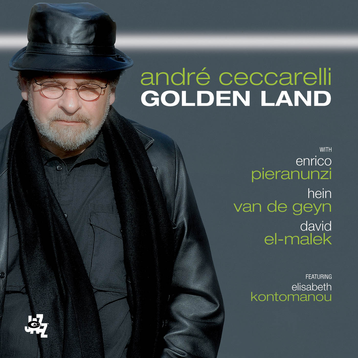 Golden Land by Andre Ceccarelli cover