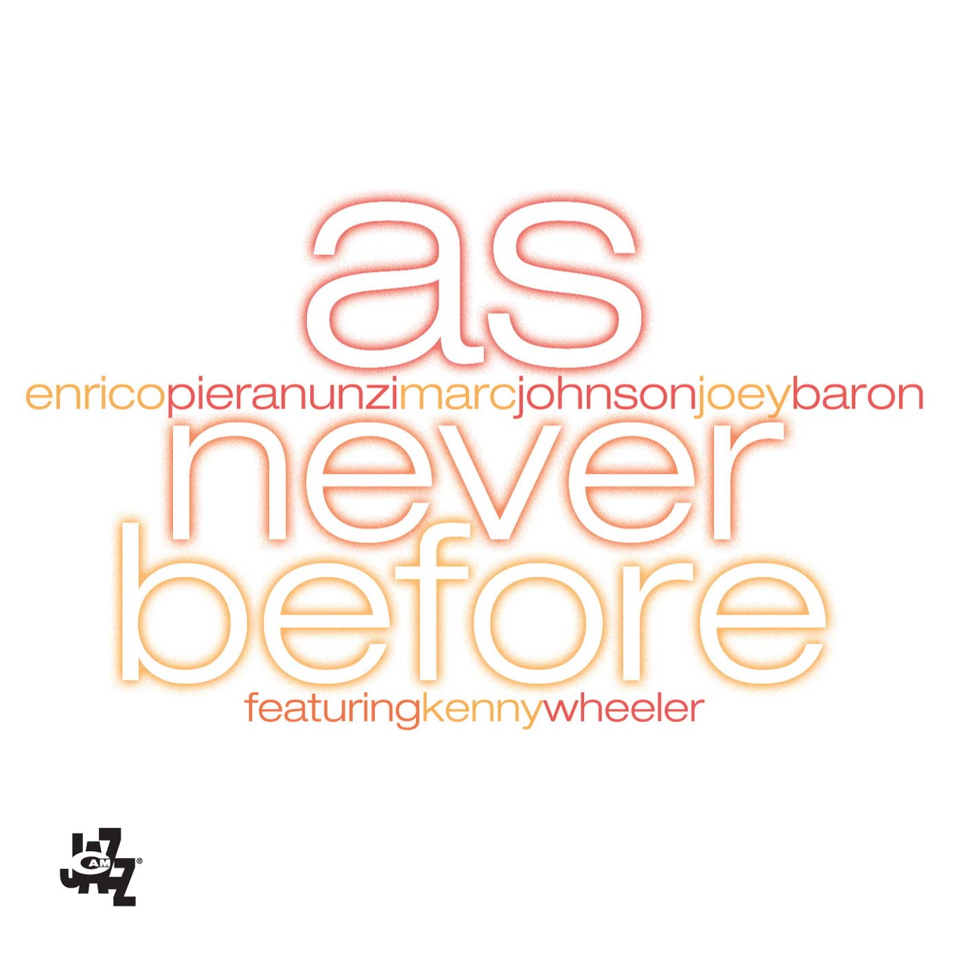 As Never Before by Enrico Pieranunzi, Marc Johnson, Joey Baron & featuring Kenny Wheeler cover