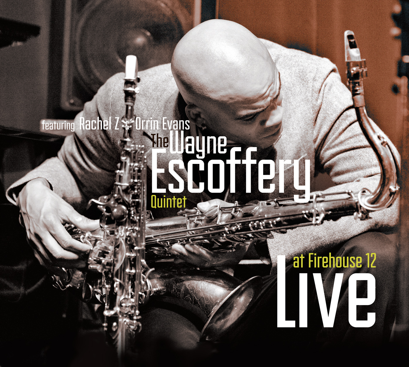 Live at Firehouse 12  by Wayne  Escoffery cover