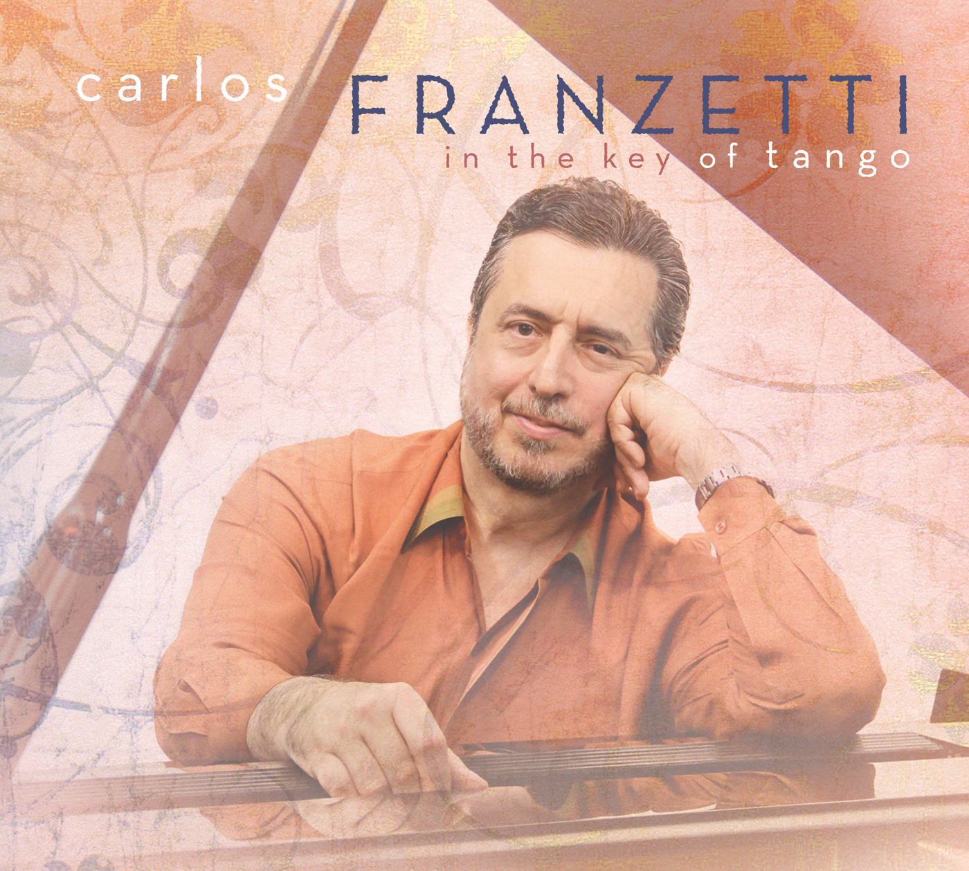 In the Key of Tango  by Carlos  Franzetti cover