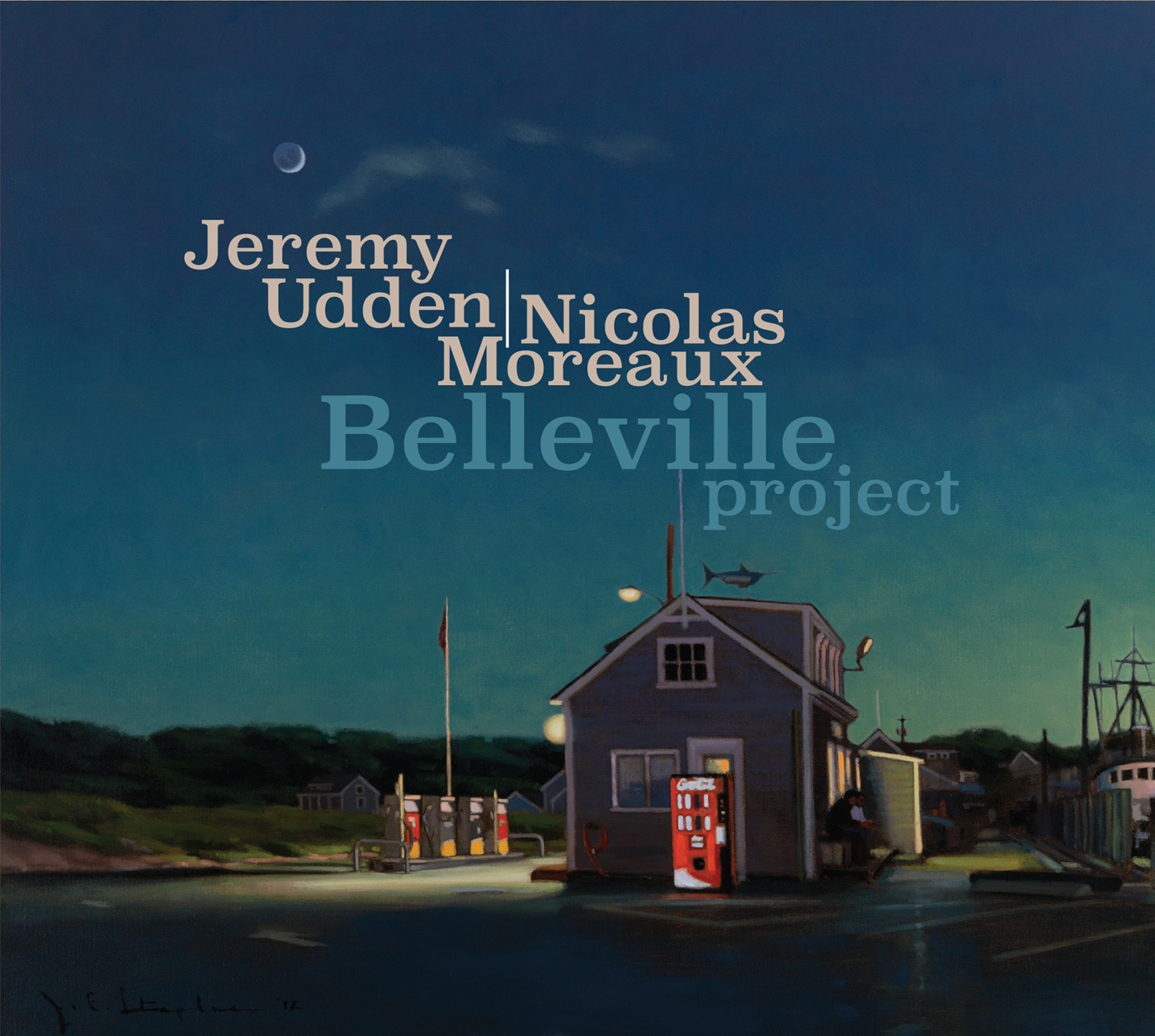 Belleville Project  by Jeremy  Udden cover
