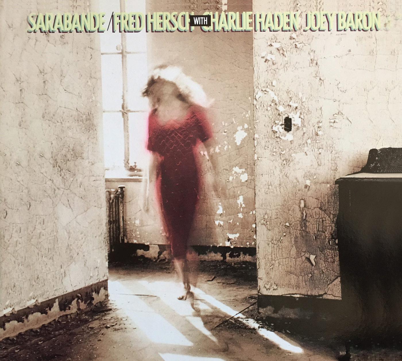 Sarabande  by Fred  Hersch cover