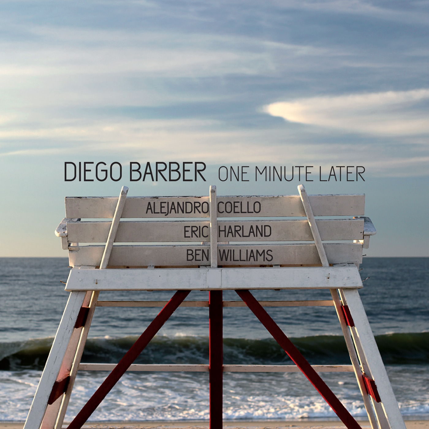 One Minute Later  by Diego  Barber cover