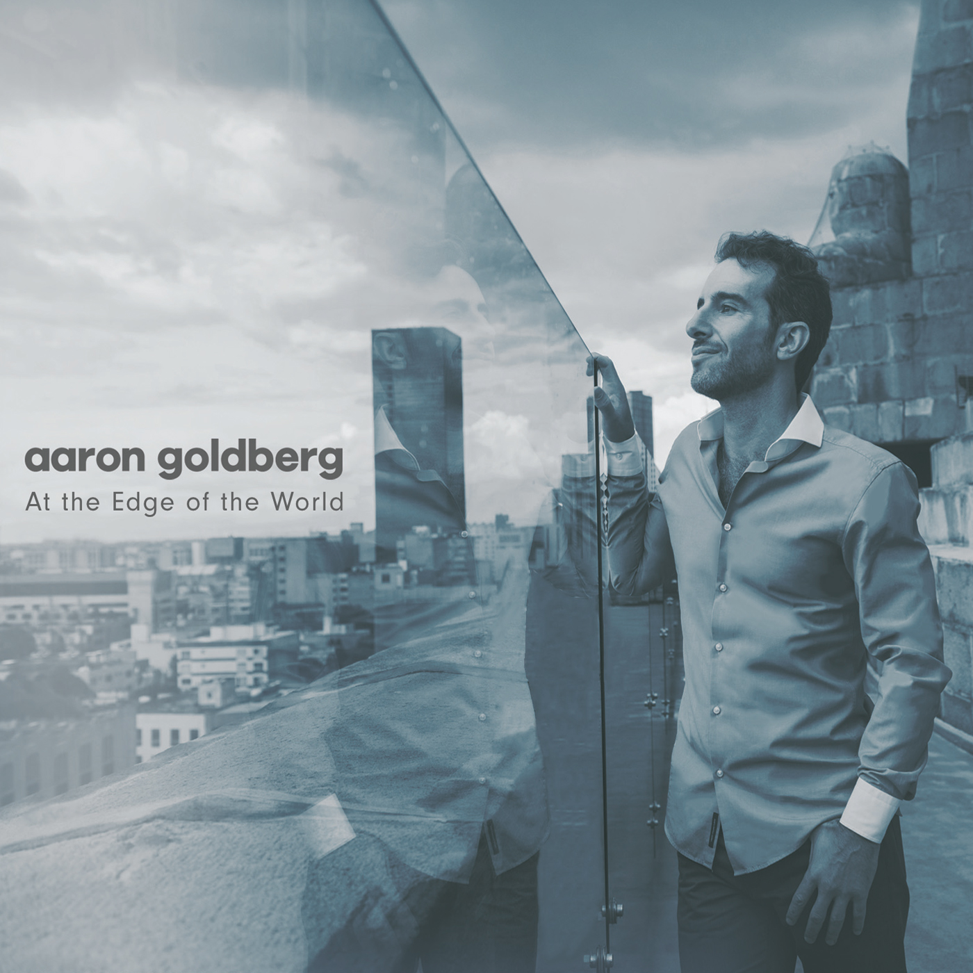 At the Edge of the World  by Aaron  Goldberg cover
