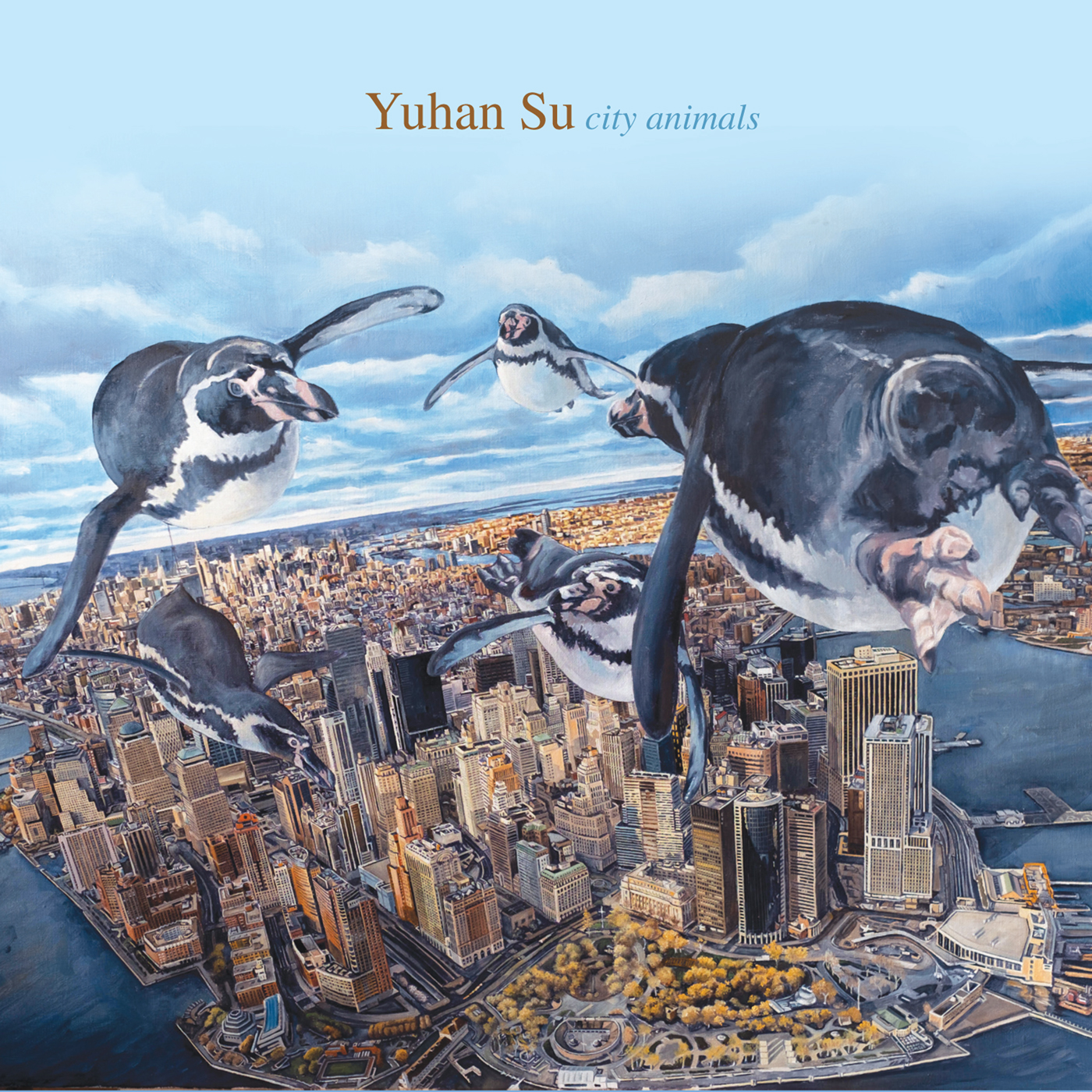 City Animals  by Yuhan  Su cover