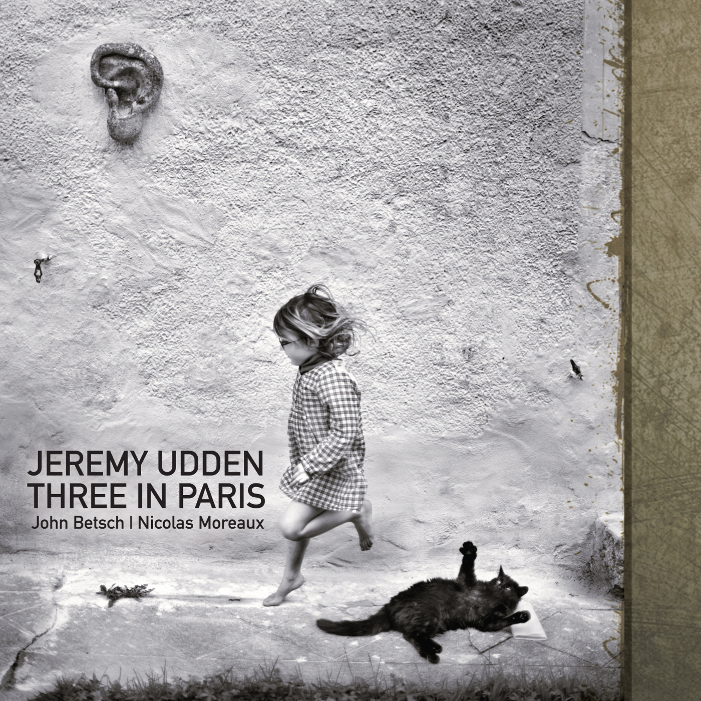 Three In Paris  by Jeremy  Udden cover