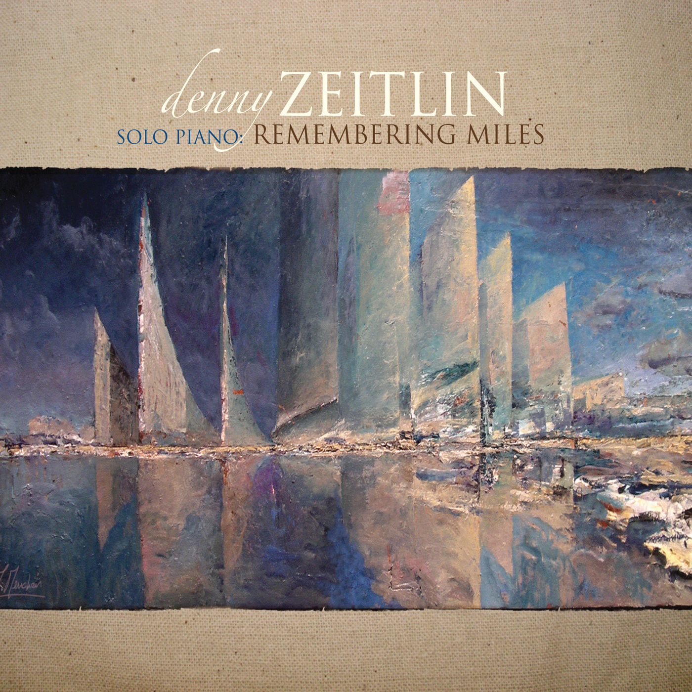 Remembering Miles  by Denny  Zeitlin cover