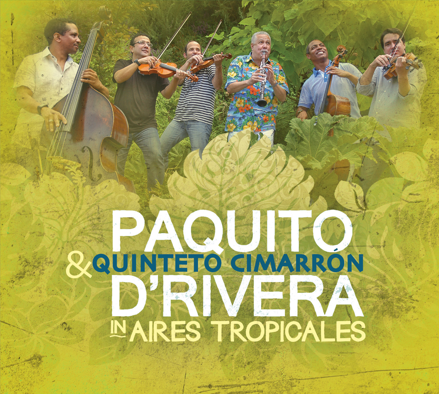 Aires Tropicales  by Paquito  D\'Rivera cover